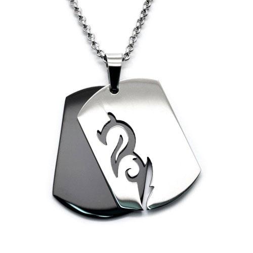 Pánsky náhrdelník s príveskom Drak – strieborný 6a6ec919675
