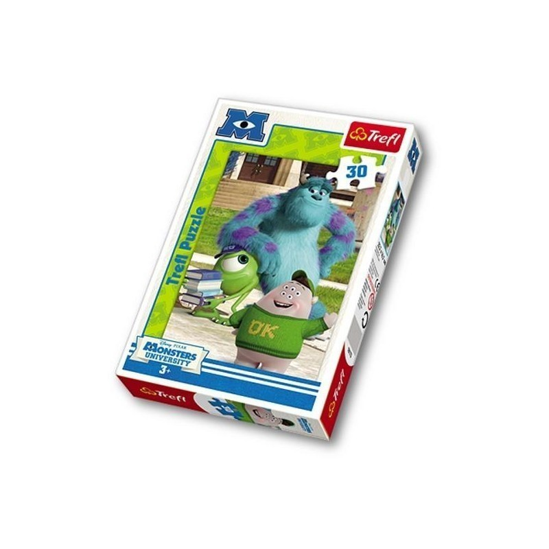 Trefl Puzzle 30 Monsters University