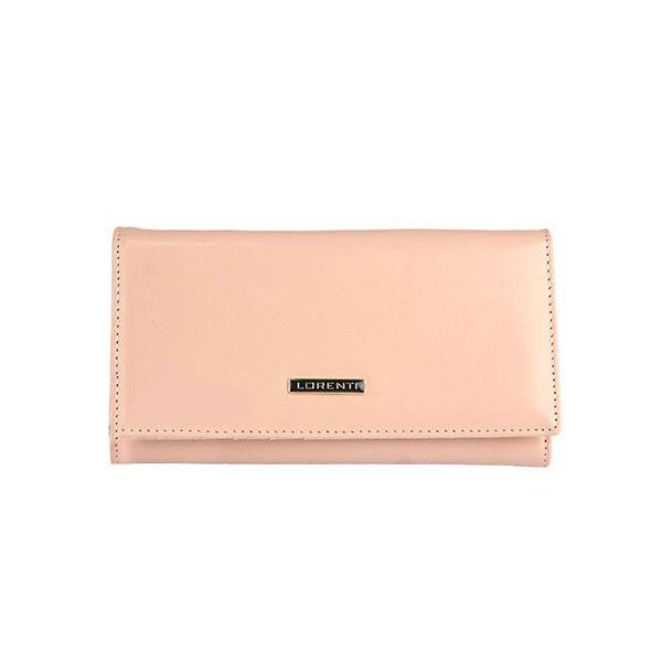 611ec01a51 Elegantná peňaženka LORENTI lososová + krabička