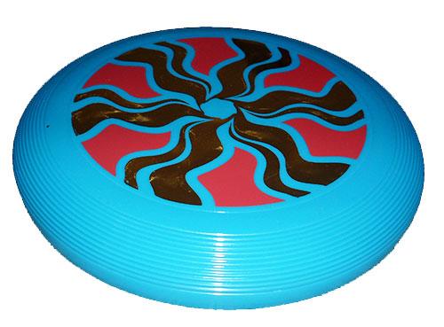 51827f3146cf5 Lietajúci tanier Carousel z recyklovaného plastu - tyrkysovozelená
