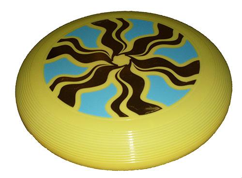 9a91071951be3 Lietajúci tanier Carousel z recyklovaného plastu - žltá